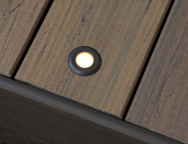 In-deck ambient light